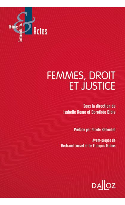 Femmes, droit et justice