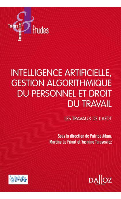 Intelligence artificielle, gestion du personnel et droit du travail