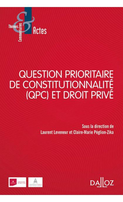 QPC et droit privé