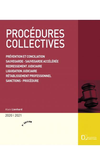 Procédures collectives 2020/2021. Prévention et conciliation . Sauvegarde . Sauvegarde financière