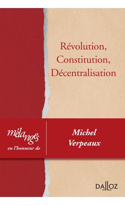 Mélanges en l'honneur de Michel Verpeaux