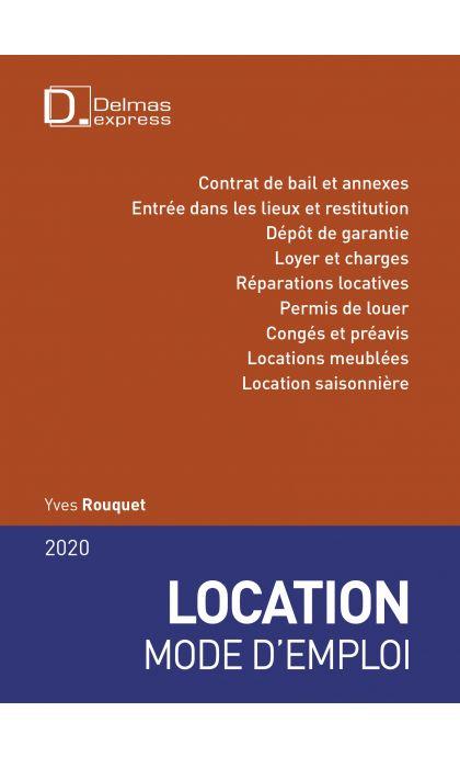 Location mode d'emploi 2020