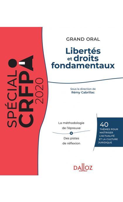 Libertés et droits fondamentaux 2020