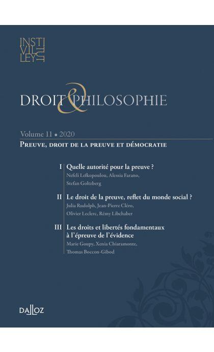 Droit et Philosophie - vol. XI.