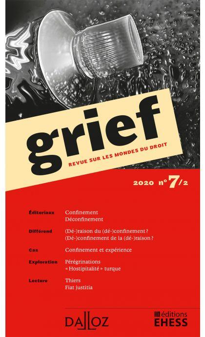 Grief, Revue sur les mondes du droit 2020 n°7/2