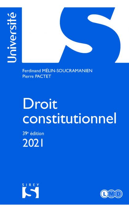 Droit constitutionnel 2021
