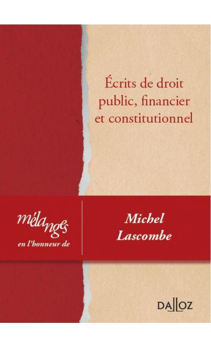 Mélanges en l'honneur de Michel Lascombe