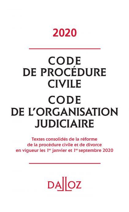 Code de procédure civile, Code de l'organisation judiciaire