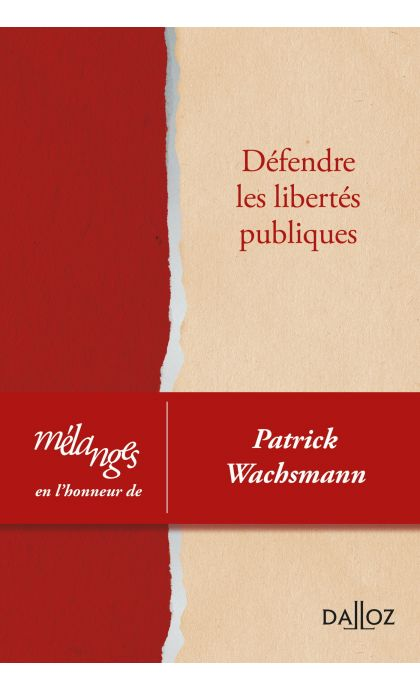 Mélanges en l'honneur de Patrick Wachsmann