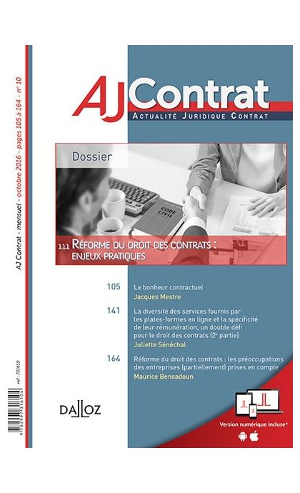 AJ Contrat (Abonnement 2021)
