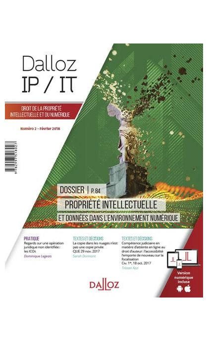 Dalloz IP/IT  (Abonnement 2021)