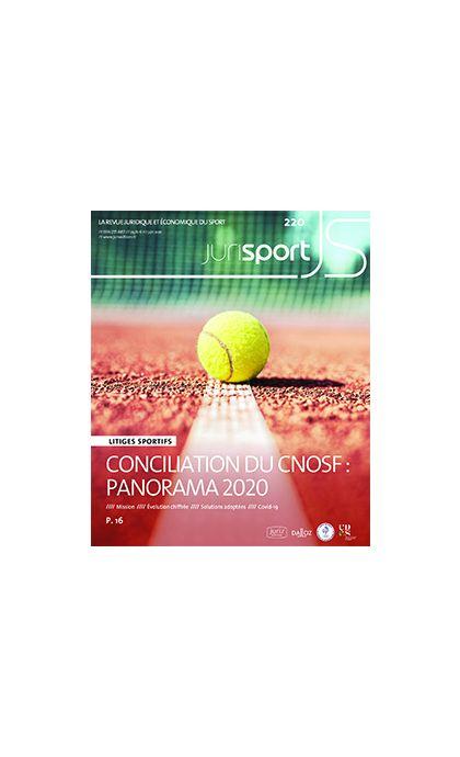 Jurisport (Abonnement 2022, fin d'année 2021 offerte !)