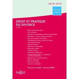 Droit Et Pratique Du Divorce 2018 2019