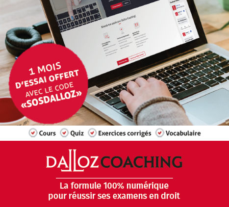 Dalloz coaching